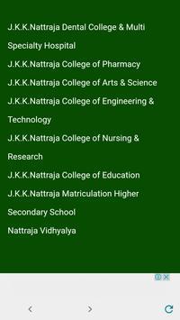 jkkn college screenshot 3