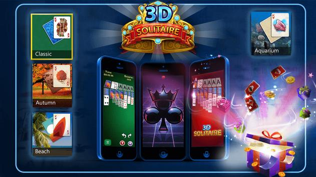 Solitaire 3D - Solitaire Game screenshot 4