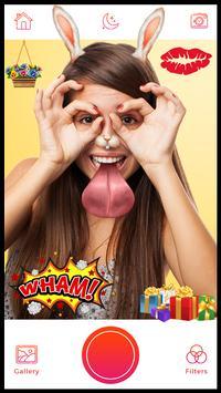 DSLR Camera - Sticker, Beauty Photo, Selfie Camera screenshot 3