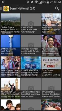 Zomi News poster