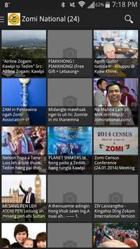 Zomi News apk screenshot