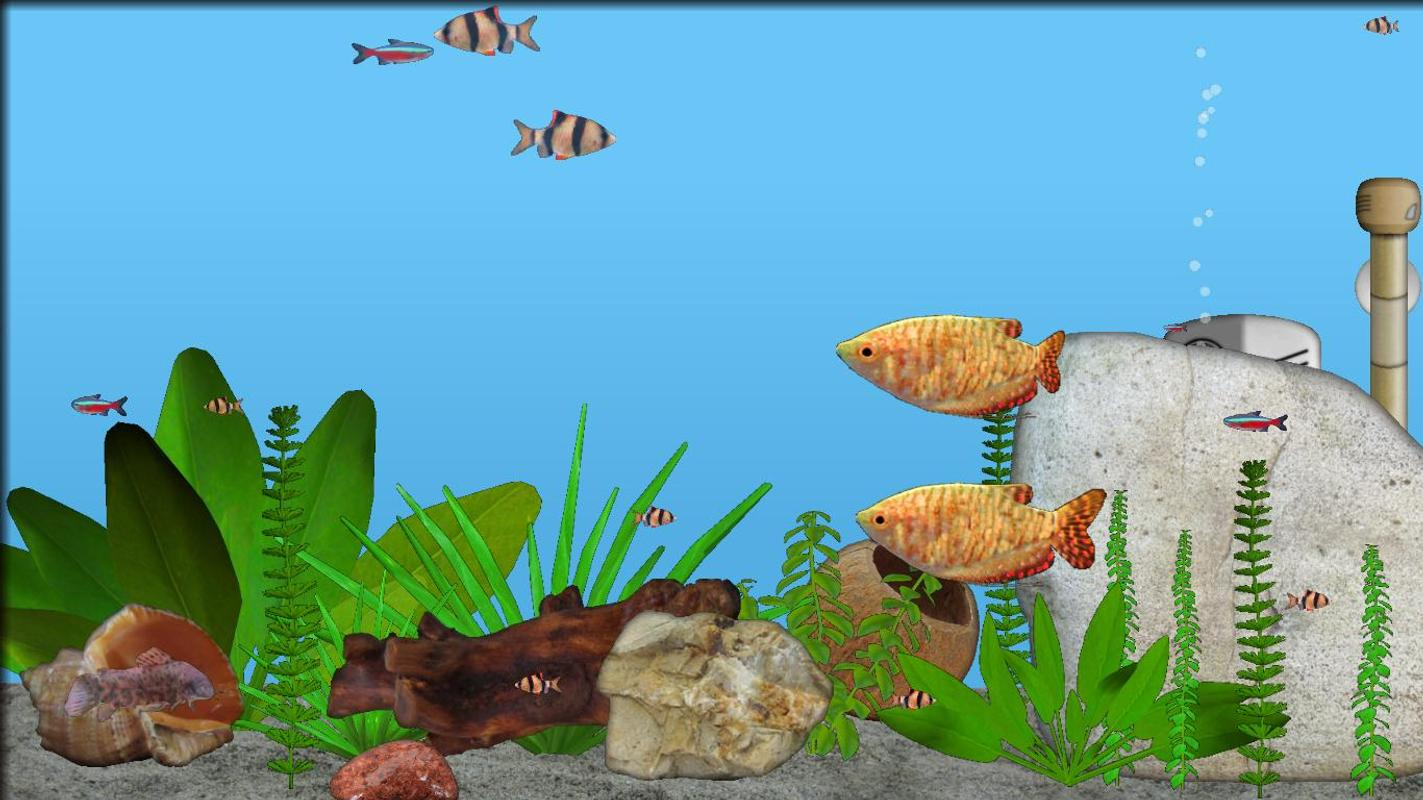 Aquarium fish apk download free casual game for android for Fish and game