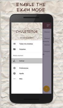 CheatSheet - Pass your exams apk screenshot