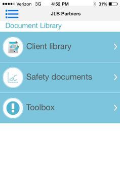 JLB Safety APP screenshot 3