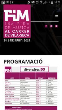 FiM Fira Musica Carrer poster