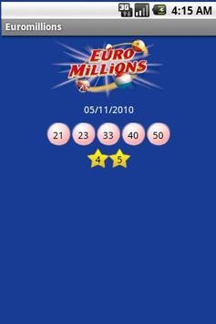 Euromillions apk screenshot