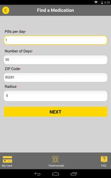 Lofaso Drug Card apk screenshot