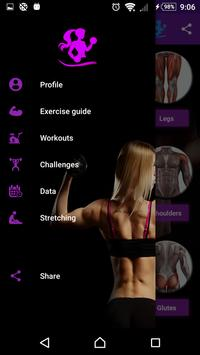 Gym Fitness & Workout Women : Personal trainer poster