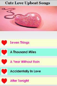 Love Upbeat Songs apk screenshot