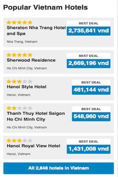Vietnam Hotels Booking Cheap apk screenshot