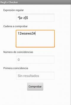 Regex Checker for Android - APK Download
