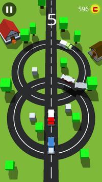 Road killer do not crash-Pixel car road battle apk screenshot