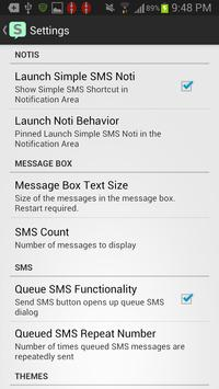 Simple SMS screenshot 3