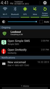 Simple SMS screenshot 7