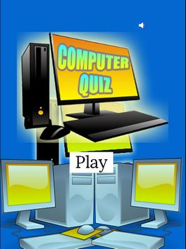 Computer Quiz Game For Kids poster