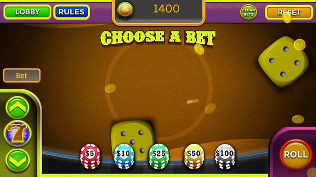 Craps Trainer App apk screenshot