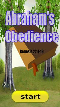 Bible Story : Abrahams Obedience poster