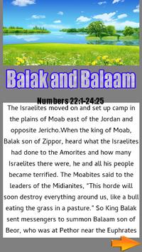 Bible Story : Balak and Balaam apk screenshot