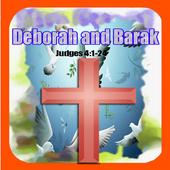 Bible Story : Deborah and Barak icon
