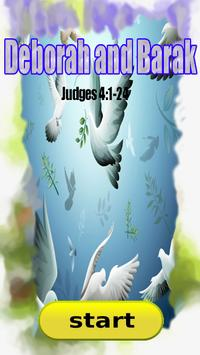 Bible Story : Deborah and Barak poster
