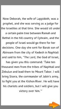 Bible Story : Deborah and Barak screenshot 2