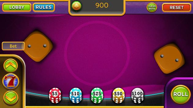 Roll Dice – Top Las Vegas 777 Casino Craps Game apk screenshot