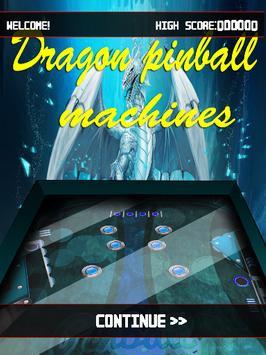 Dragon Pinball Machines poster