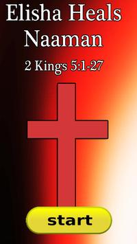 Bible Story : Elisha Heals Naaman poster