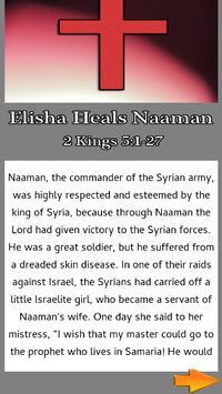 Bible Story : Elisha Heals Naaman screenshot 1