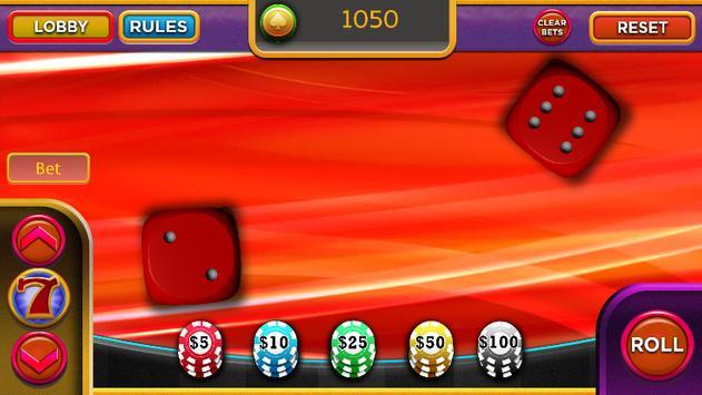 Free dice games apk screenshot