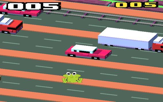 Frog jump cross road apk screenshot