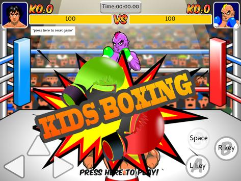Kids Boxing Games poster