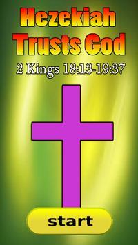 Bible Story : Hezekiah Trusts God poster
