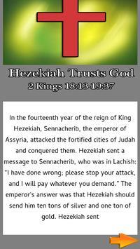 Bible Story : Hezekiah Trusts God apk screenshot