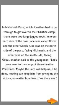 Bible Story : Jonathan's Bravery apk screenshot