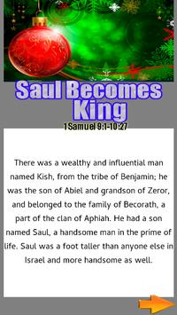 Bible Srory : Saul Becomes King apk screenshot