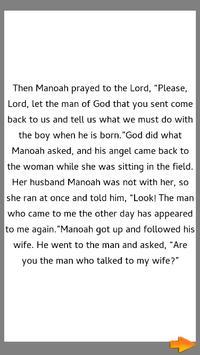Bible Story : Samson as Judge screenshot 3