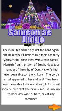 Bible Story : Samson as Judge screenshot 1