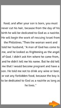 Bible Story : Samson as Judge screenshot 2