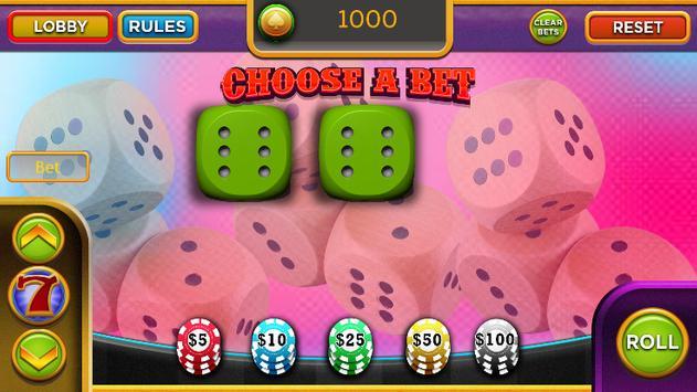 Las Vegas Craps - Addictive Casino game apk screenshot