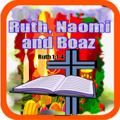 Bible Story : Ruth, Naomi and Boaz icon