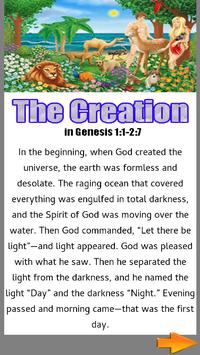 Bible Story :  The Creation apk screenshot