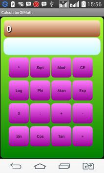 Calculator Of Math screenshot 1