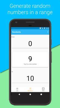 RNG - Random Number Generator & Random Picker for Android - APK Download