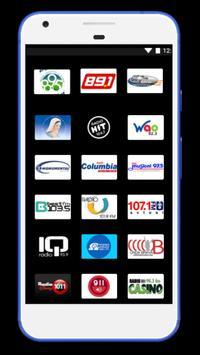 Radios de Costa Rica poster