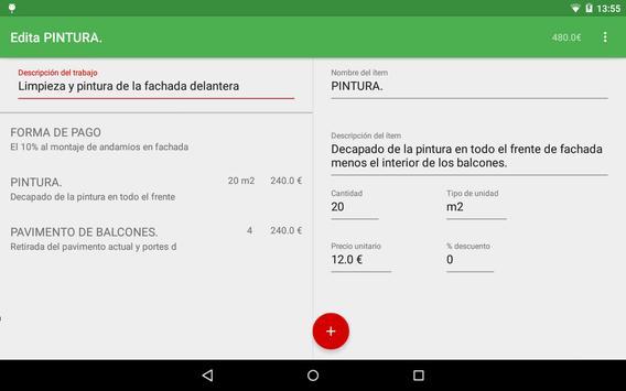 Revestimientos Moreno Castillo apk screenshot