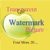 Img watermark photo app icon