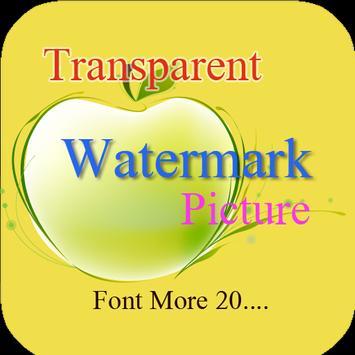 Img watermark photo app poster
