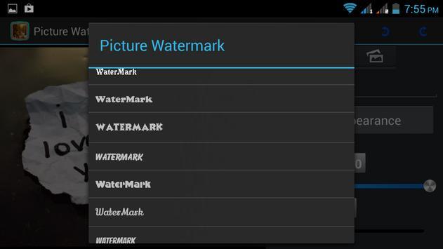 Img watermark photo app apk screenshot