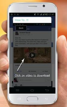 Free Video Downloader For FB screenshot 2